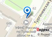 Инспекция Федеральной налоговой службы России по Центральному району на карте