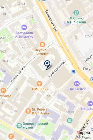АГЕНТСТВО НЕДВИЖИМОСТИ ЮНИКА ИНВЕСТ на карте Москвы