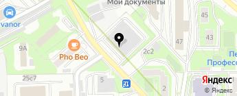SheCar на карте Москвы