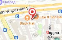 Схема проезда до компании Ла-Ла в Москве
