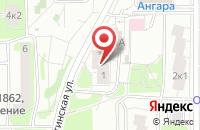 Схема проезда до компании Архамир в Москве