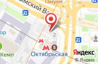 Схема проезда до компании Ситисервис в Москве