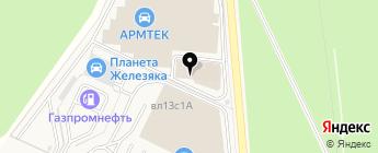 AUTO3N на карте Москвы