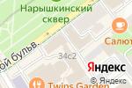 Схема проезда до компании Сцена в Москве