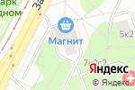 Схема проезда до компании Московский нарколог в Москве