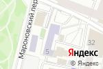 Схема проезда до компании Средняя общеобразовательная Пироговская Школа в Москве
