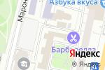 Схема проезда до компании Спецбытмонтаж в Москве