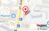 Схема проезда до компании Барено Групп в Москве
