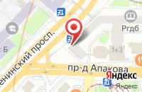 Схема проезда до компании Информационные Технологии Фитнеса в Москве