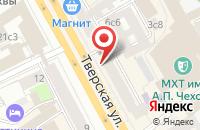 Схема проезда до компании Мартин Бор в Москве