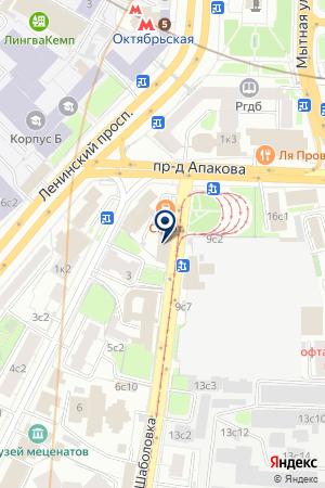 ТД ГУДВИН на карте Москвы