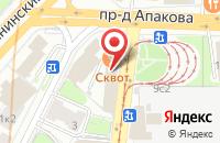 Схема проезда до компании Новоком в Москве