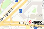 Схема проезда до компании Творческая студия фотопечати в Москве