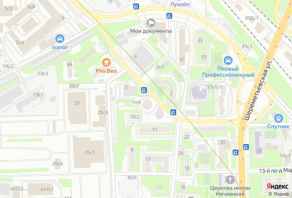 жилой комплекс 17-й пр-д Марьиной Рощи
