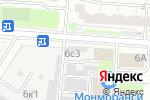 Схема проезда до компании Logan-shop в Москве