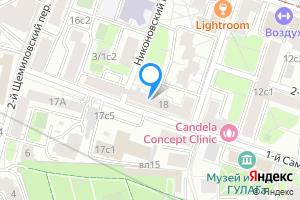 Однокомнатная квартира в Москве 1-й Самотёчный переулок, 18