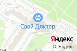 Схема проезда до компании Флорентия в Москве