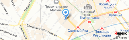 Единый Жилищный Субсидийный Фонд на карте Москвы