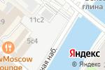 Схема проезда до компании D.E.V.E. Gallery в Москве
