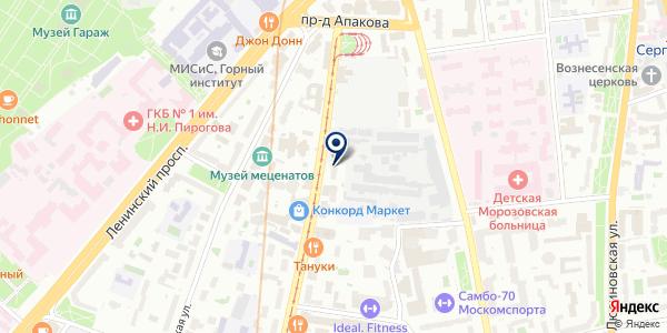 Sormand на карте Москве