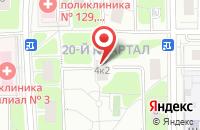 Схема проезда до компании Новарт в Москве