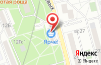 Схема проезда до компании Неострой в Москве