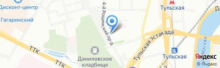 Антор Бизнес Решения на карте Москвы