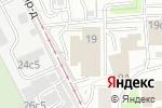 Схема проезда до компании Техноосфера в Москве