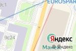 Схема проезда до компании Главикона в Москве