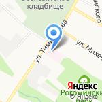 Городская больница №7 на карте Тулы