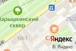Схема проезда до компании Costa Brava Buildings в Москве