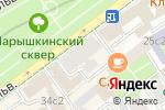Схема проезда до компании Manev & Partners в Москве