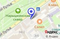 Схема проезда до компании МЕБЕЛЬНЫЙ МАГАЗИН D-1 в Москве