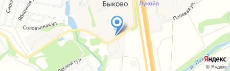 Симферопольский на карте Стрелково
