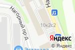 Схема проезда до компании Страховое право в Москве