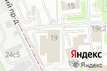 Схема проезда до компании АудитФинансЛюкс в Москве