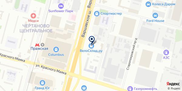 Горизонт на карте Москве