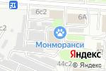 Схема проезда до компании Growmir в Москве