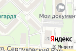 Схема проезда до компании Правовое бюро А.В. Моисеева в Москве