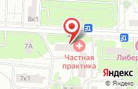 Схема проезда до компании Проектмегакров в Москве