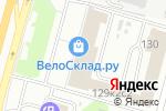 Схема проезда до компании Фронт-Офис в Москве
