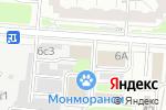 Схема проезда до компании КаминоГрад в Москве