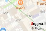 Схема проезда до компании Финпроект в Москве