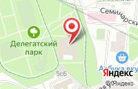 Схема проезда до компании Медицина Xxi в Москве