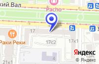Схема проезда до компании ТФ МЗЭП-ОХРАНА в Москве