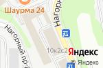 Схема проезда до компании Финансовый Навигатор в Москве