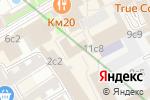 Схема проезда до компании VKYS в Москве