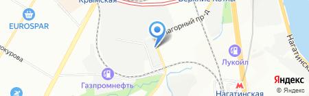 Энерготрейд на карте Москвы