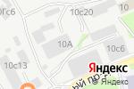 Схема проезда до компании ПРОМ БЕТОН в Москве