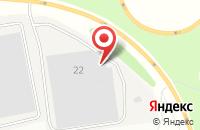 Схема проезда до компании Шате-М Плюс в Подольске